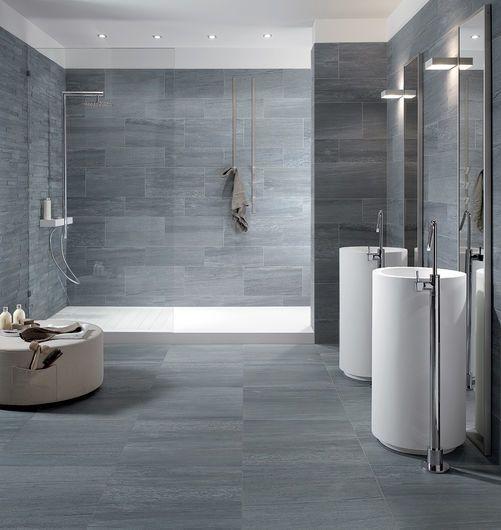 PERCORSI EXTRA Pietra di Vals 60x60 cm, 30x60 cm - Grey - Interiors