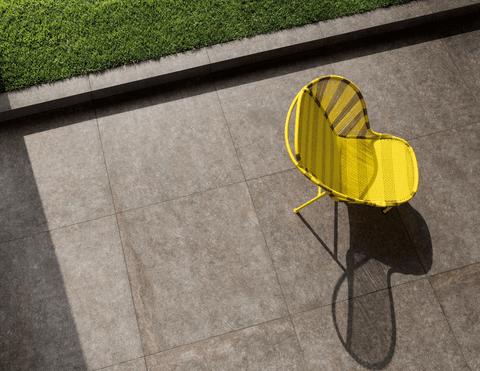 Gres porcellanato per esterni effetto pietra naturale - Percorsi Smart