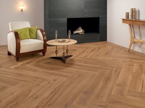 Soft texture wood effect tiles - Evoke