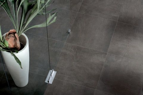 Interior design stone effect porcelain stoneware tiles - Sunrise