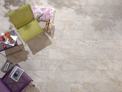 Quartz stone effect tiles - Percorsi Quartz