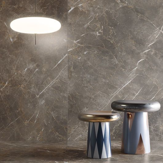 Eclectic - Persian Grey Grey marble effect porcelain tiles - Eclectic - Persian Grey