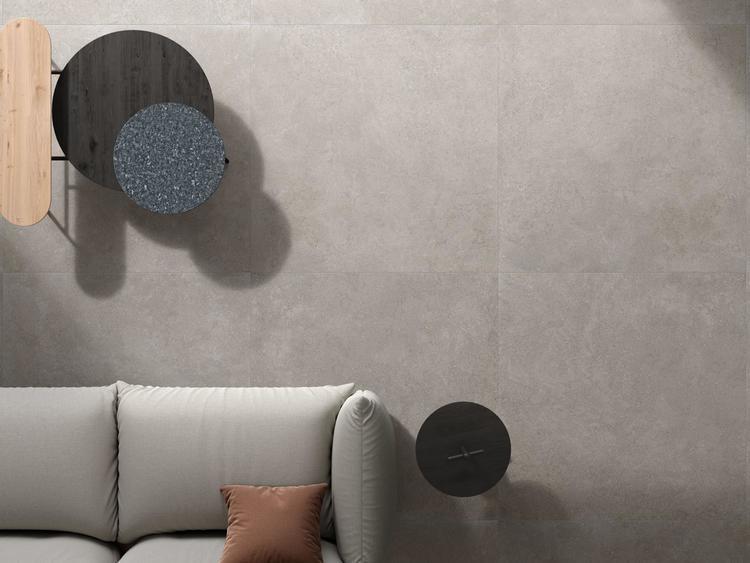 Gres porcellanato effetto pietra calcarea - Brystone