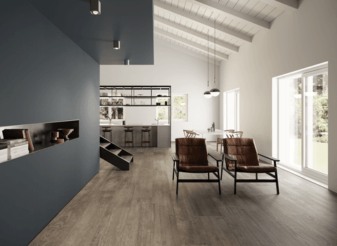 Vintage wood effect porcelain tiles - Soul