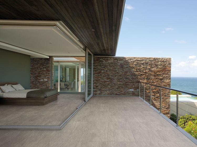 Gres porcellanato effetto pietra naturale - View | Contract