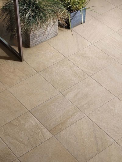 POINT Sand 30x30 Structured R11 - Beige - extérieur
