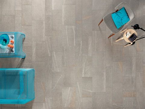 Modern living porcelain stoneware tiles - Percorsi Smart