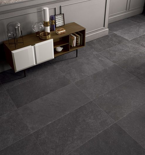 CODE Anthracite 60X120 cm. - nat RT - Grigio Nero - Interno