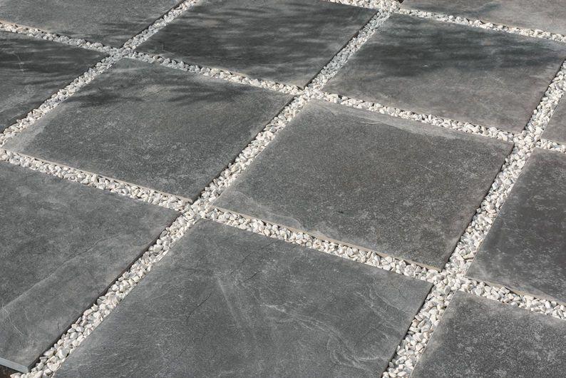 EXTREME Anthracite 60x60 cm - strutt. K2 20 mm - Grigio - Esterno spessore 20 mm
