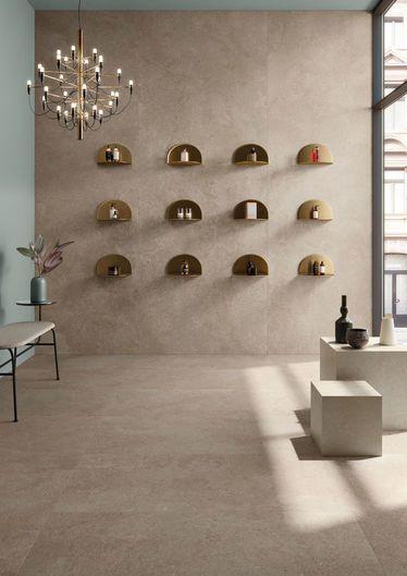 Brystone Gold 120x278 - 60x120 RT - Beige - intérieur