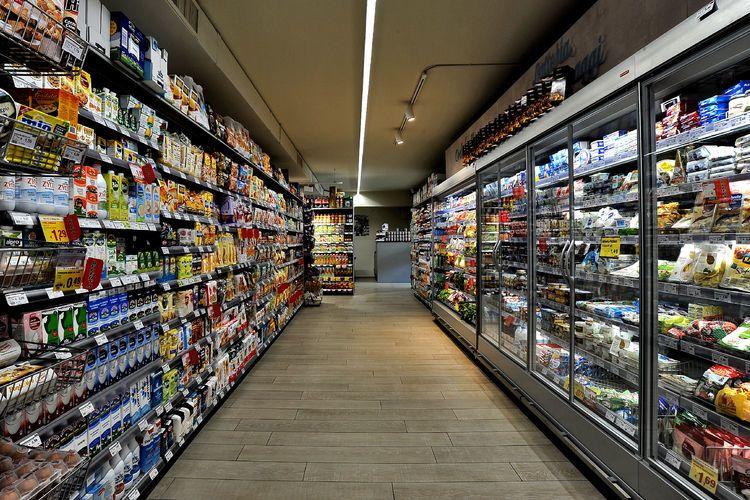 Supermarkt - Italien