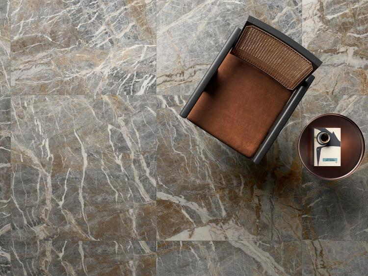 contemporary marble effect stoneware tiles