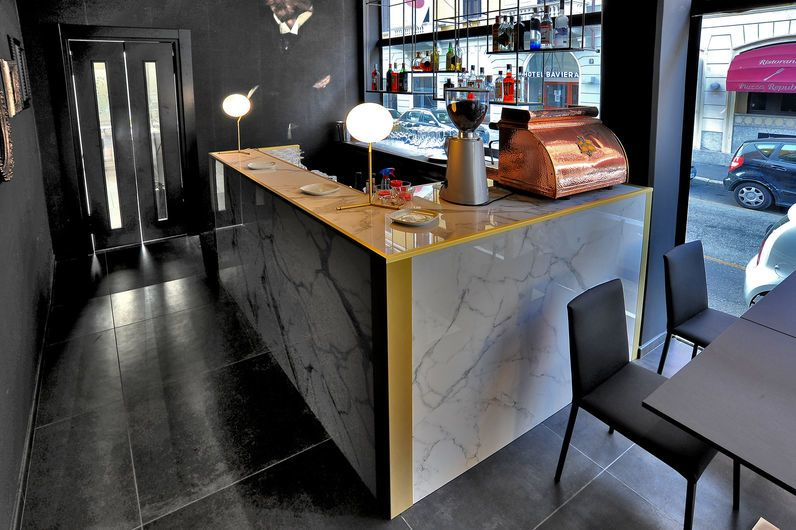 Bar Manunzio - Elements LUX Calacatta 120x240