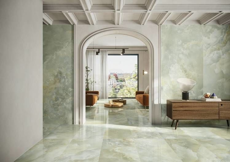 pavimenti effetto marmo lappato multicolor