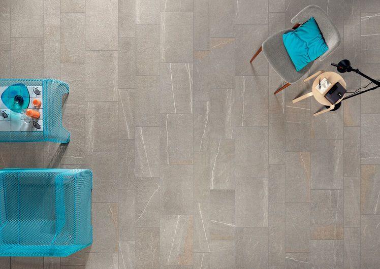 PERCORSI SMART Pietra Di Bressa 40x60 cm, 30x60 cm, 20x60 cm - strutt. - Gris - Exteriores Interiores