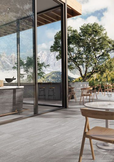 Swisstone Grey 60x60 K2 20mm - Grey - Exteriors in 20 mm thickness