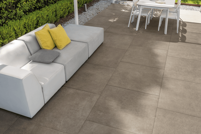 concrete effect flooring for outdoor 20 mm
