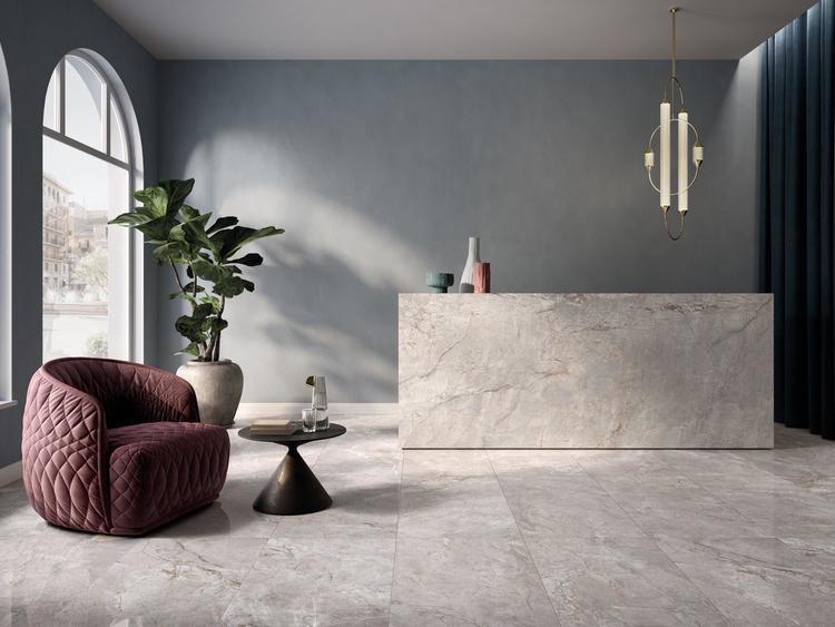 Carreaux en grès cérame effet marbre - Elements Lux