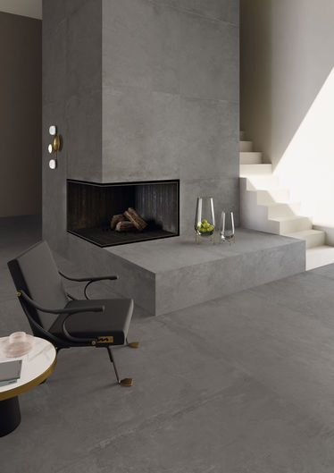 Ikon Grey 120x278 - 120x120 RT  - Grey - Interiors