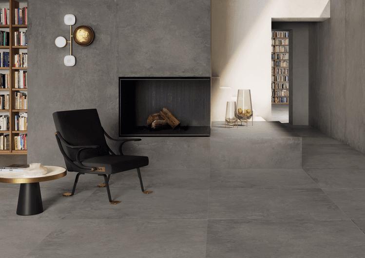 Ikon Grey 120x278 - 120x120 cm