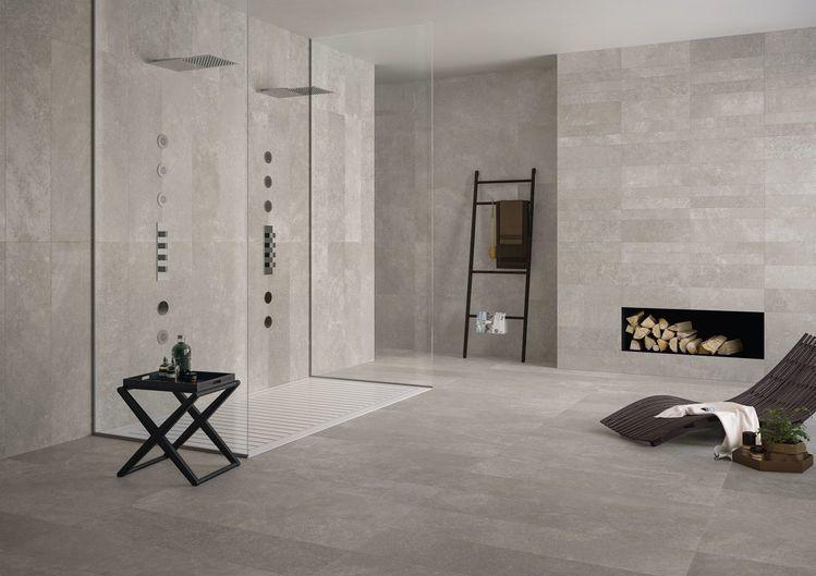 CODE Grey 30X120 cm. - nat. RT - Gris - intérieur