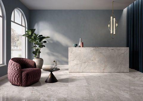 Gres porcellanato lucido effetto marmo - Elements Lux