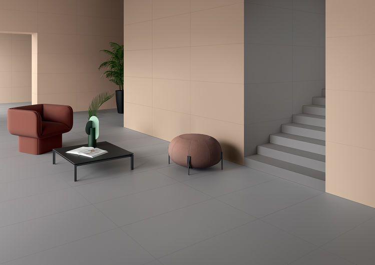 Elements Design - Grey Powder Peach