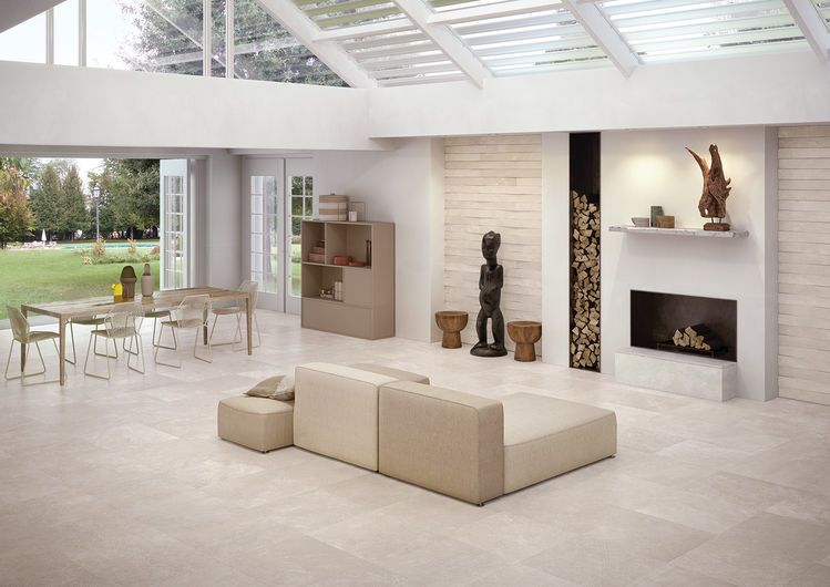 CODE Ivory 60X60 cm. - nat RT - Blanc - intérieur