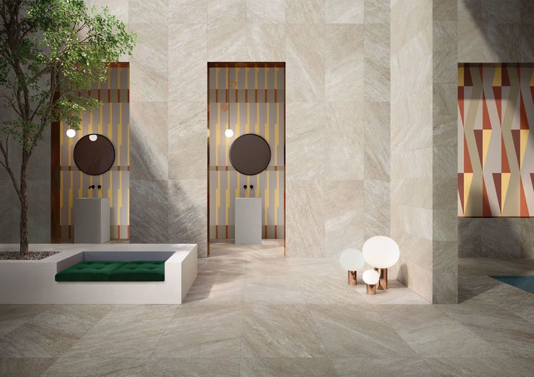 Spa / FLOOR ARAN WALNUT 60x120 - WALL 60x120- 30x120 DECORO DIGITALE / A RILIEVO 120x278