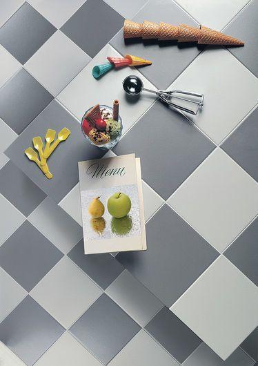 K-COLOR Greyness Pearl 20x20 cm - nat. - Grigio - Interno